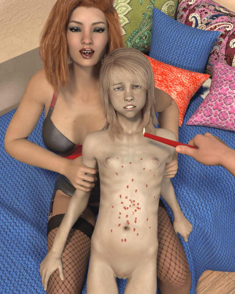 3D Lolicon BDSM Girl Puberty Vol. 5 by Ygalax