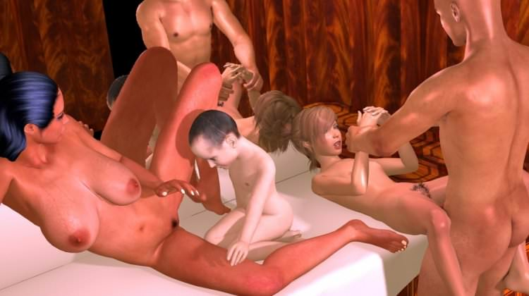 Hentai - Sauna Family Orgy 3D Lolicon photo video gallery