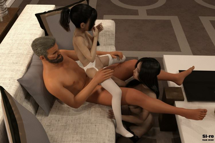 3D Lolicon photo family incest vol. 3 by Si-ro