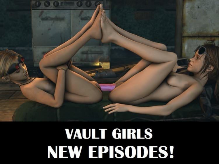 Vault Girls Episodes 14-15-16-17 (FullHD 1080) 3D Shotaloli Videos Ellie Vol. 3