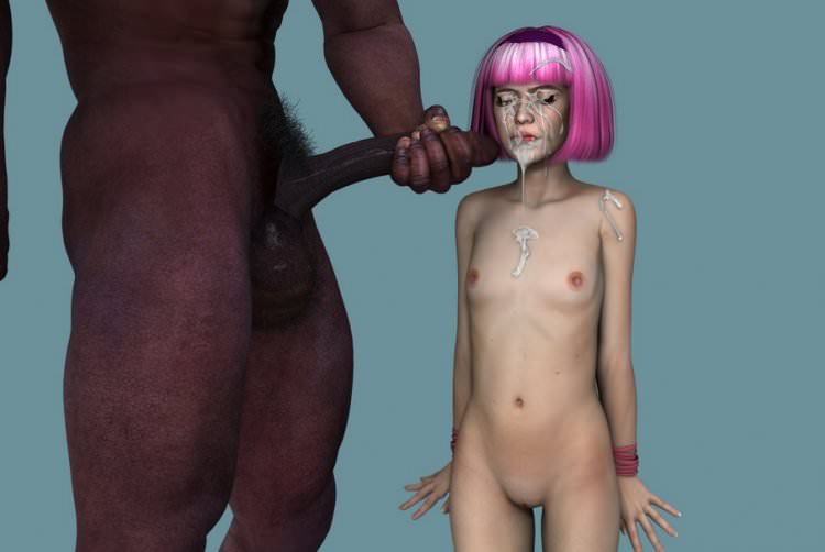 3D loli and black man pictures big gallery by Wayfarer